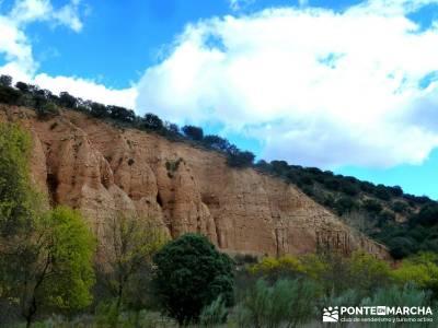 Cárcavas del Río Perales - Sierra Oeste de Madrid; viaje otoño; noviembre
